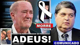 Triste noticia: Mulher de Renato Aragão se pronuncia | Apresentador Datena comunica
