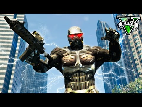 GTA V MODS PODERES SUPER HUMANOS !! GTA 5 CRYSIS Makiman