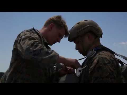 DFN: 2nd Recon parachute operations, CAMP LEJEUNE, NC, UNITED STATES, 04.25.2018