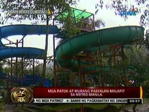 24 Oras: Mga patok at murang pasyalan malapit sa Metro Manila, alamin (032312)