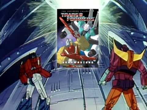 Transformers Japanese Collection: Headmasters DVD Trailer