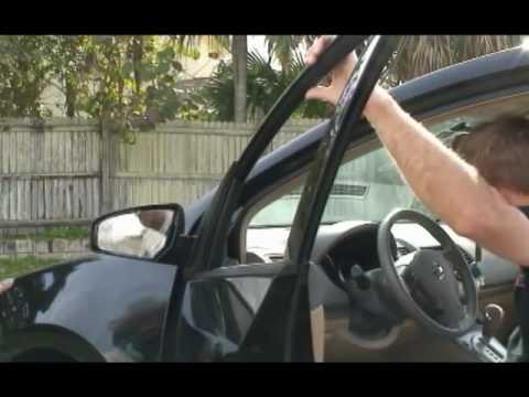 Nissan Sentra Side View Mirror Assembly How To Replace A