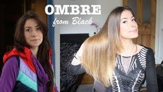 ✄ Окрашивание Омбре и Блонд из Черного Дома / Осветление волос из Черного Ombre Hair ✄(, 2013-09-10T13:44:01.000Z)