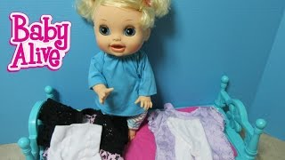 BABY ALIVE My Ballerina Baby Gets new Toys R Us Clothes + New Name + Shout outs!