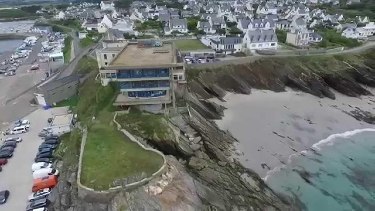 H tel pointe sainte barbe le conquet youtube - Hotel relais du vieux port le conquet ...