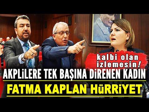 Fatma Kaplan Hürriyet'in AKP Ile Aksiyon Filmlerini Aratmayan Mücadelesi!
