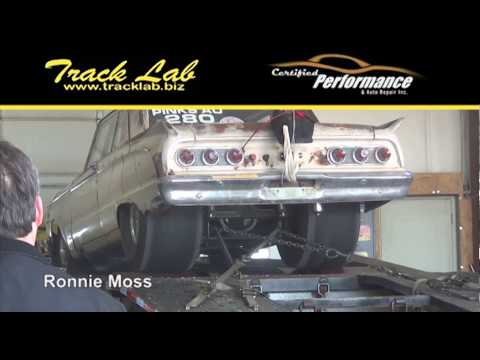Ronnie Moss' 1962 Rust Mercury Comet