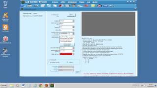 configuração para iniciantes painel  led control v3.40 letra digital