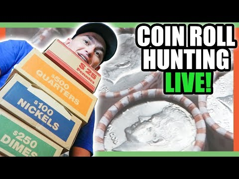 SEARCHING FOR SILVER COINS WORTH MONEY!!