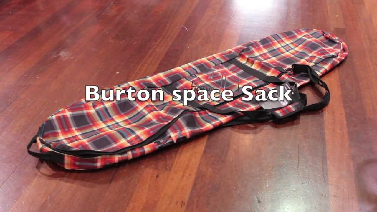 0ee78214eca8a0 Burton space sack snowboard bag Overview and features - YouTube