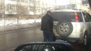 Владивосток. Ссыт в пробке на 2-й речке