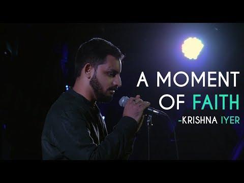 A Moment Of Faith - Krishna Iyer   Kahaaniya - A Storytelling Open Mic By Tape A Tale thumbnail