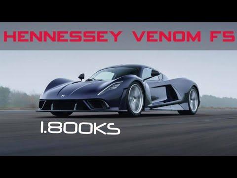 Hyperautomobil iz Teksasa sa 1.800ks! – Hennessy Venom F5
