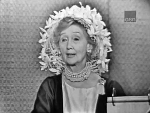 What's My Line? - Hedda Hopper; Dennis Weaver [panel] (Apr 22, 1962)