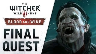 """THE WITCHER 3: Wild Hunt - Blood and Wine """"Final Quest"""" DLC Launch Trailer (Xbox One) 2016 EN"""