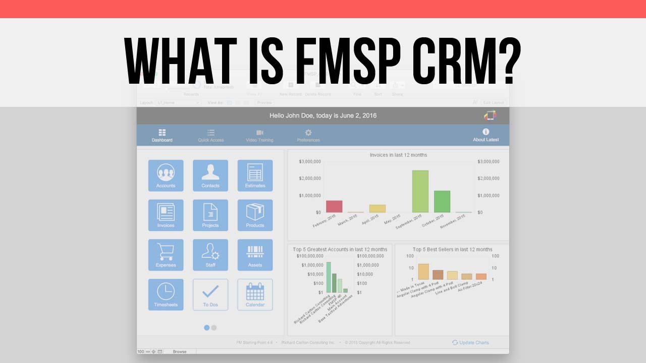 What Is Fm Starting Point Free Crm