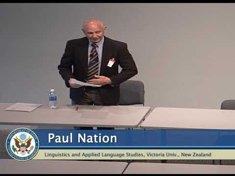 Applying the Four Strands: Dr. Paul Nation Speaks to FSI on Language Learning