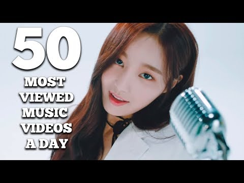 50 Most Viewed K Pop Music Videos a Day (January 2018 – Week 3)