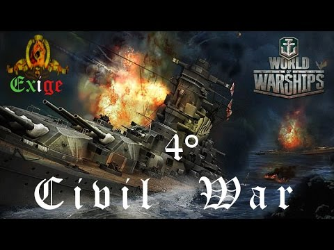 World of Warships ITA - 4° Civil War - Online Streaming - Exige