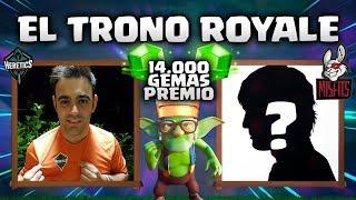 """DESDE la CRL EU INVITADO ESPECIAL vs QUINTANA89 """"TRONO ROYALE"""" - CLASH ROYALE"""