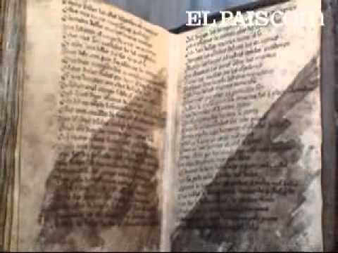 EL MANUSCRITO DEL CANTAR DE MIO CID.( Videos en ELPAÍS)