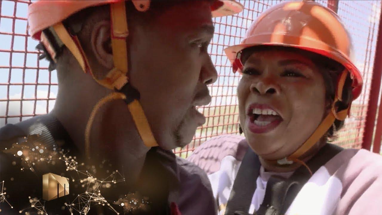 Download Vava and Dam-Dam bungee jumping – Isibaya | Mzansi Magic