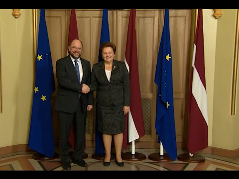 Visit of the Conference of Presidents of the European Parliament to Riga on December 4, 2014