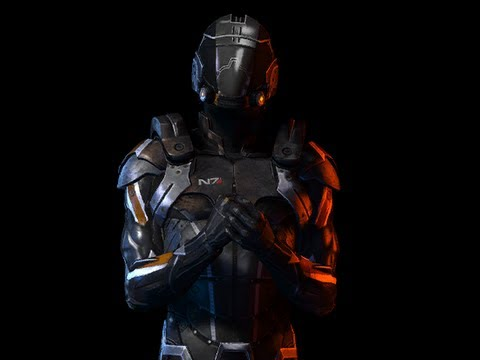 Mass Effect 3 N7 Slayer Armor For Commander Shepard