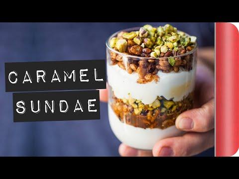 Toasted Cereal Caramel Sundae Recipe #ad