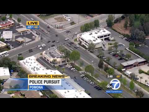Los Angeles Police Chase (August 16, 2015)