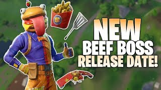 Fortnite *NEW* Beef Boss Skin RELEASE DATE - How To Get The Beef Boss Skin in Fortnite