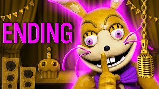 FNAF Ending Music Animation Five Nights at Freddys VR Help Wanted