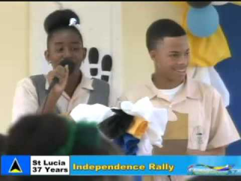 St lucia 37 independence School Rally part 2