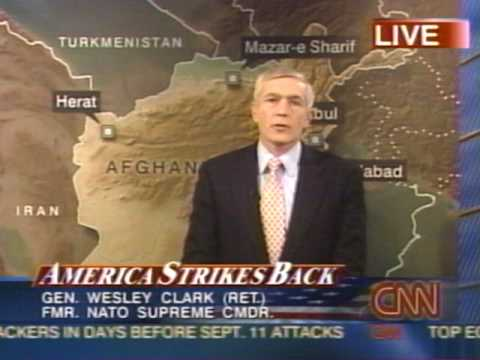 News - Afghan War - Initial Bombing on Cities - 7 Oct 2001