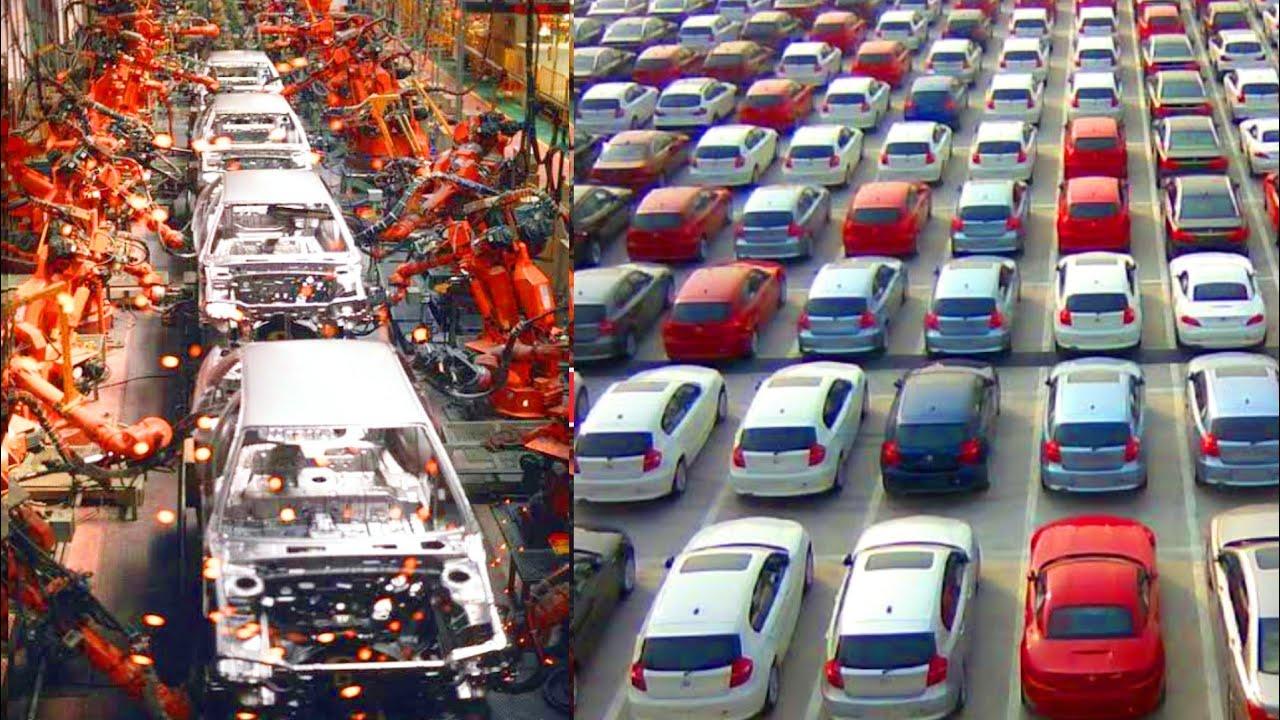 देखिए फैक्टरी में कैसे मिनटों में हजारों कार तैयार करती हैं ये मशीनें || Car Manufacturing Process
