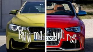 car challenge bmw m4 vs audi rs5