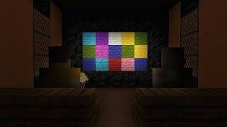 как сделать рабочий кинотеатр в Minecraft