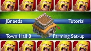 Clash of Clans Town Hall level 8 Defensive Replays (After update)