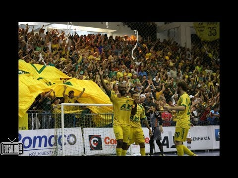 Jogo Completo Assoeva 1 x 1 Joinville - FINAL Jogo 1 Liga Nacional de Futsal 2017 (25/11/2017)
