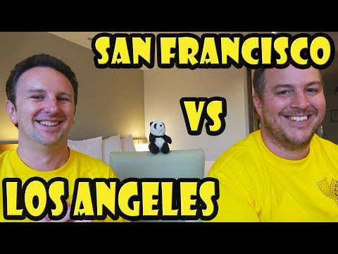 San Francisco Travel Vs Los Angeles Travel