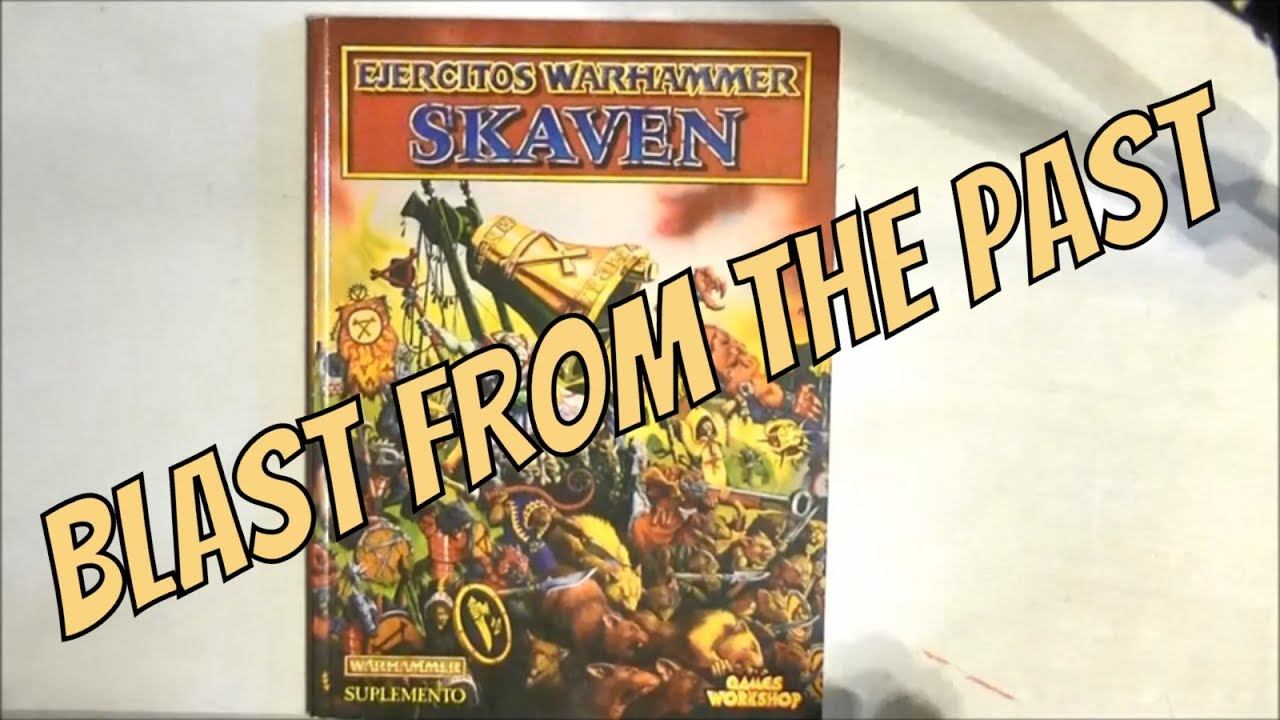 Edition skaven 8th army book