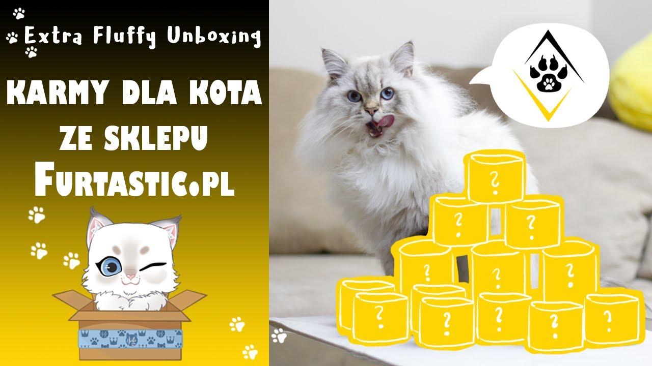 Karmy dla kota ze sklepu Furtastic 😺 Extra Fluffy Unboxing 🎁