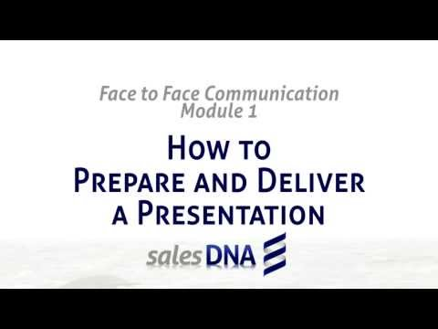 How to deliver an effective business presentation