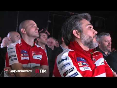 2016 Ducati Team MotoGP Presentation
