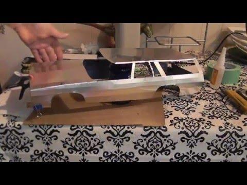 Building a Metal  Demolition Derby RC Wagon body
