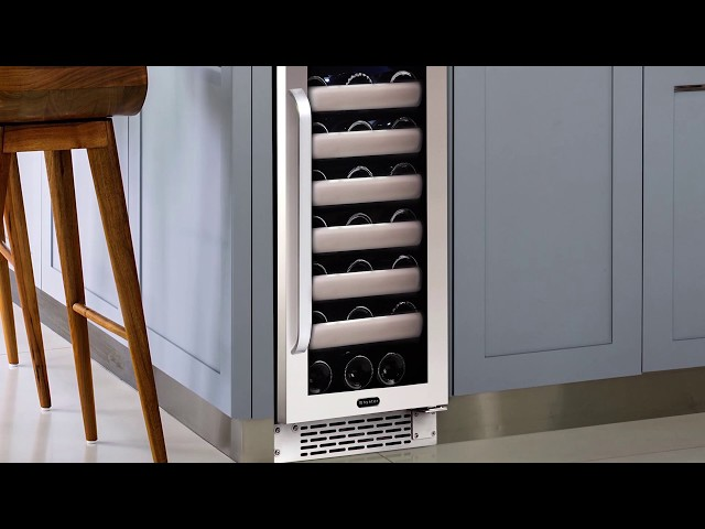 Whynter BWR-331SL Elite 33 Bottle Seamless Single Zone Built-in Wine Refrigerator