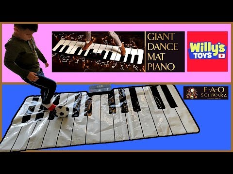FAO Schwarz Premium Piano Dance Mat - TOY REVIEW - Willy's Toys