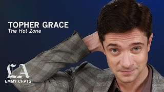 'The Hot Zone' star Topher Grace knows more about Ebola than he ever wanted — and he's scared