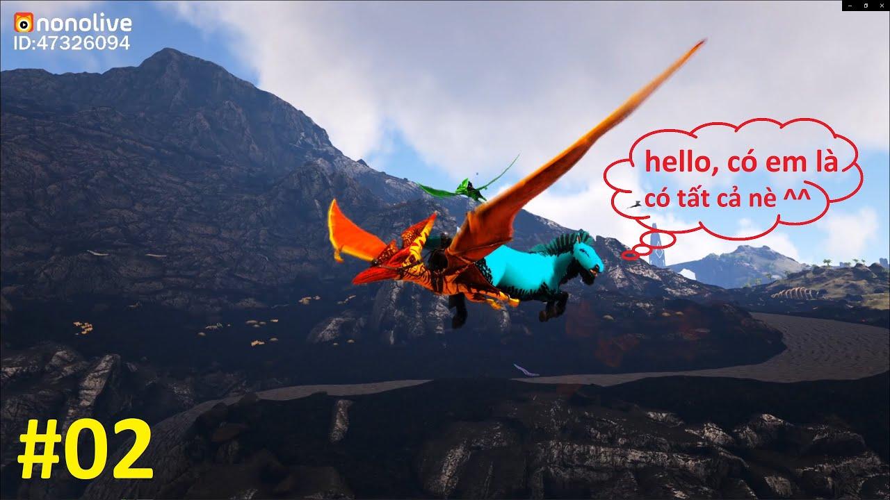 """ARK: Ragnarok Mod #2 - Giàu Có Rồi Nhá Các Bạn, Mình Đã Có Ngựa Prime và Siêu Máy Farm """"Doe Eternal"""""""
