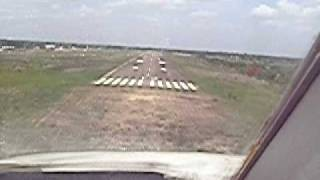 Cessna Citation 500 Eagle landing at  San Fernando de Apure SVSR  Venezuela